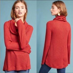 Anthropologie Meadow Rue cowl Neck sweater SZ XS